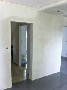 photo ouverture mur après