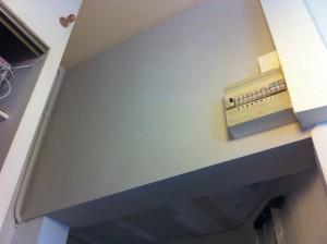 plâtre sur mur en tuffeau